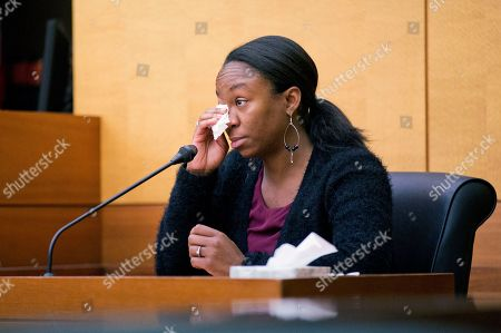 LaPrincia Brown LaPrincia Brown, the half-sister of Bobbi Kristina Brown, wipes a tear while taking the witness stand in a wrongful death case against Bobbi's partner, Nick Gordon, in Atlanta, . Brown, the celebrity daughter of singers Whitney Houston and Bobby Brown, was found face-down and unresponsive in a bathtub in her suburban Atlanta townhome in January 2015