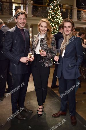 Stock Image of Alper Sezer, Jemima Wilson and Francis Paley