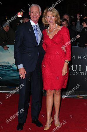 Stock Image of Captain Chesley B Sullenberger III and wife