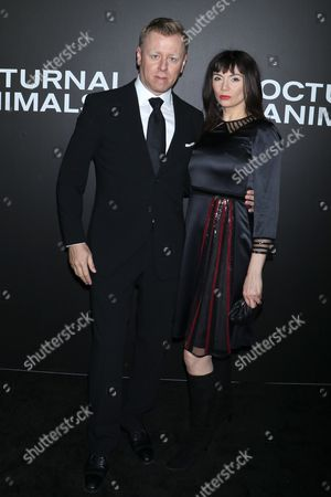 Editorial picture of 'Nocturnal Animals' film premiere, Arrivals, New York, USA - 17 Nov 2016