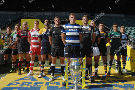 Editorial picture of Aviva Premiership Launch