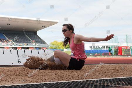 Athletics - 2013 IPC Grand Final Stefanie Reid of Great Britain in action during the women's long jump F42/44 at the Alexander Stadium Birmingham