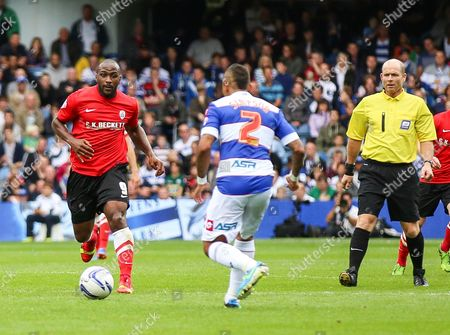Editorial picture of QPR 2 Barnsley 0 - 05 Oct 2013