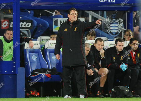 Football - 2012 / 2013 Premier League - Queens Park Rangers vs Liverpool Alan Pascoe - Liverpool assistant Manager / Coach at Loftus Road