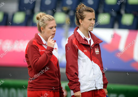 Lawn Bowls - 2014 Glasgow Commonwealth Games - Day Nine Women's Pairs Final: England vs South Africa England's Jamie-Lea Winch left and Natalie Melmore on the way to winning silver at Kelvingrove Lawn Bowls Centre