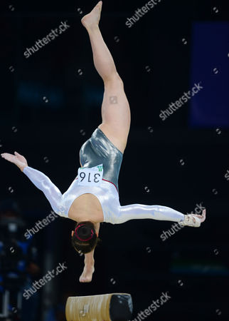Gymnastics - 2014 Glasgow Commonwealth Games - Day Six Women's Artistic Team All-Around England's Hannah Whelan on the balance beam at The SSE Hydro