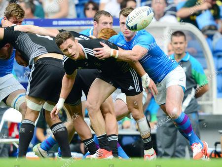 Rugby Union Sevens - 2014 Glasgow Commonwealth Games - Day Three Pool A: Scotland vs New Zealand Gillies Kaka at Ibrox Stadium