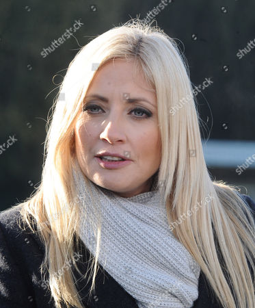 Football - 2014 / 2015 FA Cup - Third Round: Dover Athletic vs Crystal Palace BT Sport Commentator Lynsey Hipgrave at the Crabble Athletic Ground Lynsey interviewed  in the BT Sport in Focus programme for the World Cup 2014 LINK - http://sport bt com/video-01363814401986?videoid=3641342907001