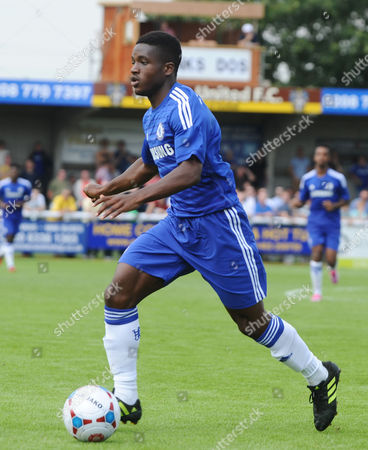 Stock Picture of Football - 2014 / 2015 pre-season friendly - Sutton United vs Chelsea Under-21 Chelsea's Kevin Wright at Borough Sports Ground Gander Green Lane