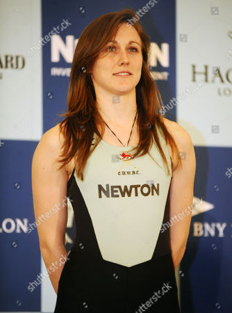 Rowing - 2015 BNY Mellon Boat Race & Newton Women's Boat Race Crew Announcement & Weigh-In - Royal Academy of Arts Burlington Garden Womens Caroline Reid of GBR for Cambridge