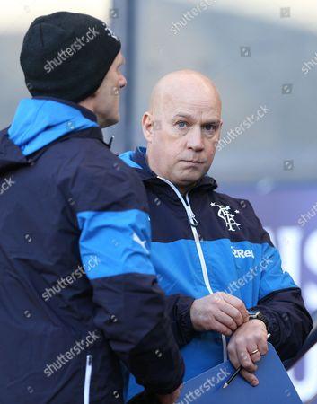 Football - 2014 / 2015 Scottish League Cup - Semi-Final: Rangers vs Celtic Rangers manager Kenny McDowell at Hampden Park