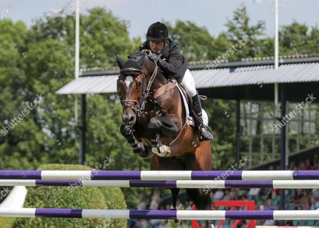 Show Jumping - 2015 The Equestrian Com Hickstead Derby Meeting The Bunn Leisure Derby Trial Roger Whittaker riding USA Today in the jump off at The All England Jumping Club Hickstead  GBR Hickstead