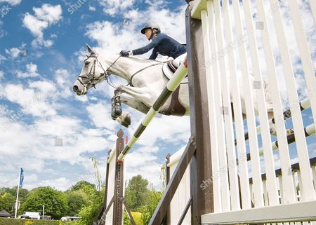 Editorial picture of Show Jumping - 2015 The Equestrian.Com, Hickstead Derby Meeting,