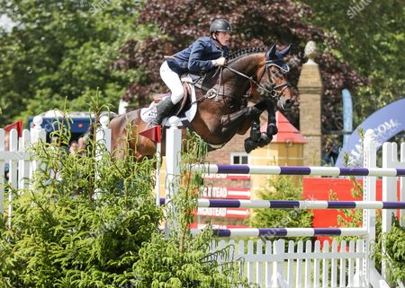 Show Jumping - 2015 The Equestrian Com Hickstead Derby Meeting The Bunn Leisure Derby Trial Daniel Coyle riding Fanadwest Rebel at The All England Jumping Club Hickstead  GBR Hickstead