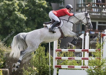 Editorial image of Show Jumping - 2015 The Equestrian.Com, Hickstead Derby Meeting,