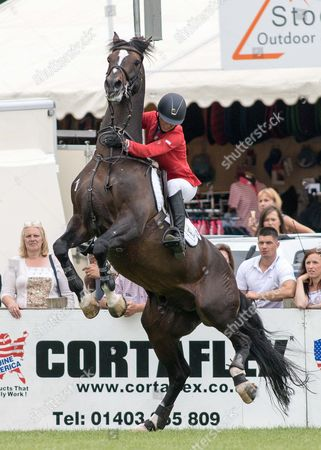 Editorial photo of Show Jumping - 2015 The Equestrian.Com, Hickstead Derby Meeting,