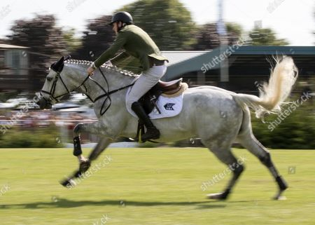 Show Jumping - 2015 The Equestrian com Hickstead Derby Meeting The British Speed Derby (Liz Dudden Memorial Trophy) Daniel Coyle riding Loughern Built to Last at The All England Jumping Club Hickstead  GBR Hickstead