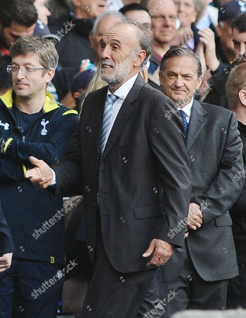 Football - 2014 / 2015 Premier League - Tottenham Hotspur vs Manchester City Ex Tottenham player Ricky Villa returns to White Hart Lane