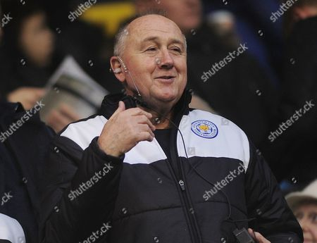 Stock Image of Football - 2015 / 2015 FA Cup - Third Round: Tottenham Hotspur vs Leicester City Leicester City assistant Manager and head of Recruitment Steve Walsh at White Hart Lane