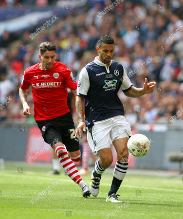 Editorial photo of Lge 1 P-O Final: Barnsley 3 Millwall 1 - 29 May 2016