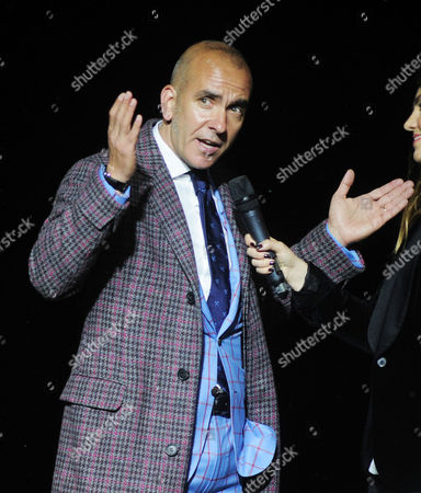 Football - 2015 / 2016 Premier League - West Ham United vs Manchester United Paolo di Canio at Closing ceremony at Upton Park [This is the final game at the Boleyn Ground before West Ham?s move to the Olympic Stadium next season ]