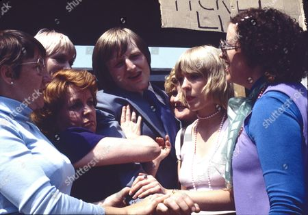 """Editorial picture of """"Coronation Street"""" TV series  - 1978"""