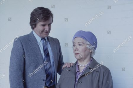 William Roache (as Ken Barlow) and Gabrielle Daye (as Beattie Pearson)