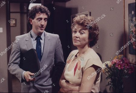 Stock Image of Robert McCulley (as Mr Banks) and Anne Cunningham (as Linda Cheveski)