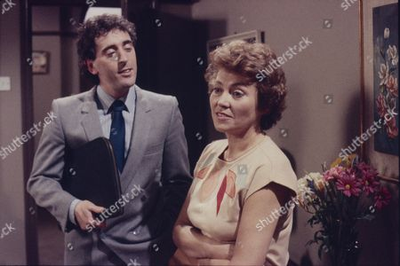 Stock Picture of Robert McCulley (as Mr Banks) and Anne Cunningham (as Linda Cheveski)