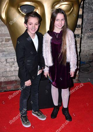 Editorial photo of BAFTA British Academy Children's Awards, Arrivals, London, UK - 20 Nov 2016