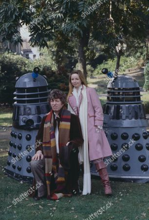 Doctor Who (TV Programme): Tom Baker, as the 4th Doctor Who, and Lalla Ward, as Romana