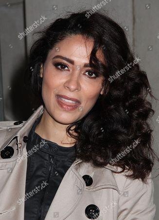 Editorial image of Yasmine Al Massri at AOL Build Speaker Series, New York, USA - 17 Nov 2016