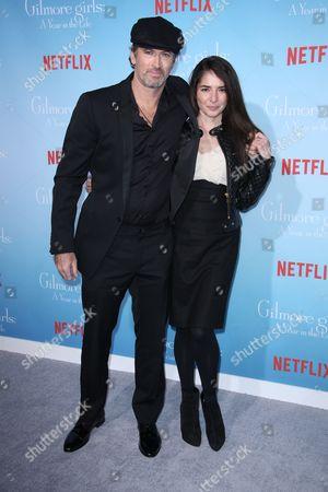 Scott Patterson and Kristine Sarayan