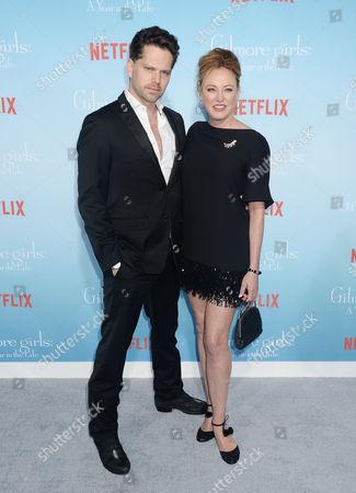 Nick Holmes and Virginia Madsen