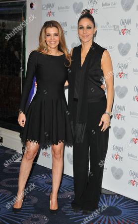 Linda Papadopoulos and Julia Bradbury