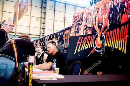 Stock Photo of Sam J Jones (Flash Gordon) meets fans