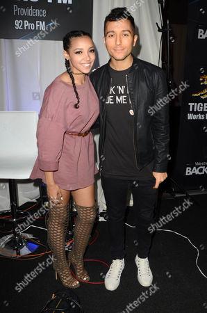 Tinashe and Ralphie Aversa