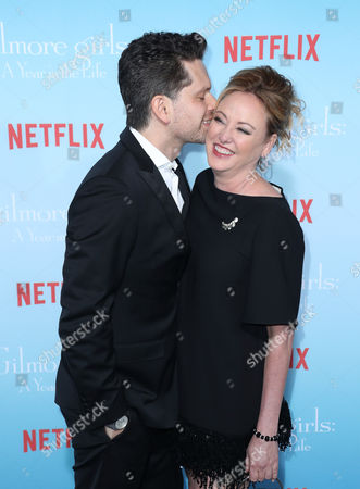 Stock Picture of Nick Holmes and Virginia Madsen