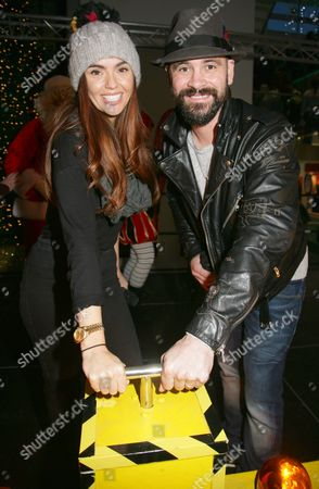 Stock Image of Jennifer Metcalfe & Ayden Callaghan