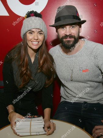 Stock Photo of Jennifer Metcalfe and Ayden Callaghan