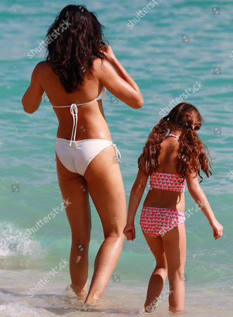 Padma Lakshmi and daughter Krishna Lakshmi