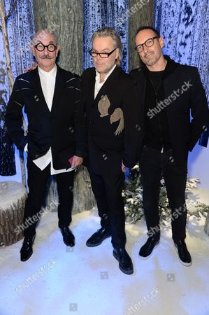 Tony Glenville, David Downton and Julian Vogel