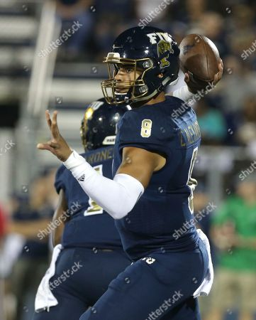 Christian Alexander Florida International quarterback Christian Alexander passes the football during the first half of an NCAA college football game against Marshall, in Miami
