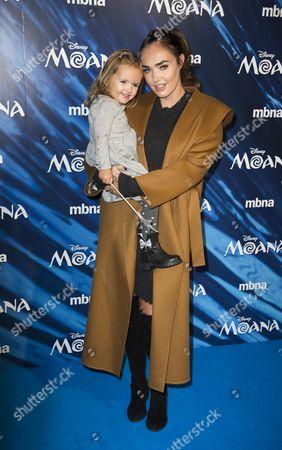 Tamara Ecclestone with Sophia Ecclestone-Rutland