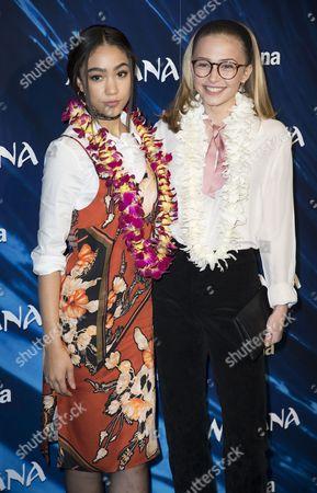 Jade Alleyne and Sophie Simnett