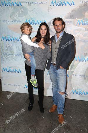 Jessica Ciencin Henriquez, Josh Lucas and Son