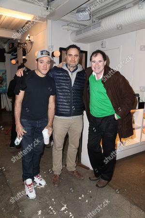 Gregg Bello, Dominic Fumusa, Richard Kind