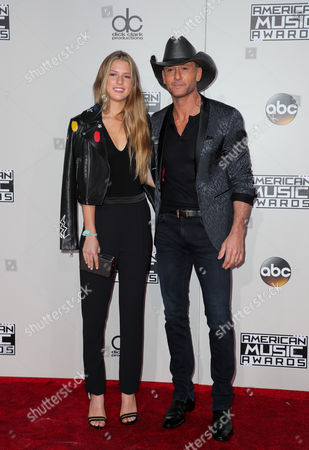 Maggie McGraw and Tim McGraw