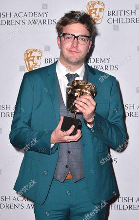 Editorial picture of BAFTA Children's Awards 2016, Press Room, London, UK - 20 Nov 2016