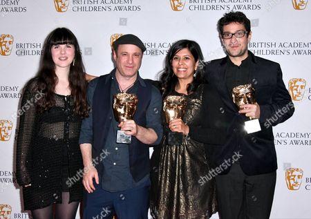 Editorial photo of BAFTA Children's Awards 2016, Press Room, London, UK - 20 Nov 2016
